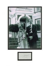 Fawlty Towers Autograph Signed Display - Cleese & Scales